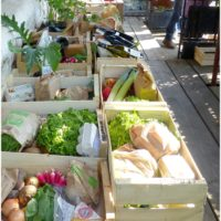 Un marché bio et local : Le grand bazar de Laleu